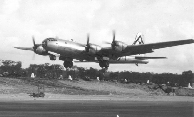 Aircraft of the 501st Bomb Group taking off from Northwest Field