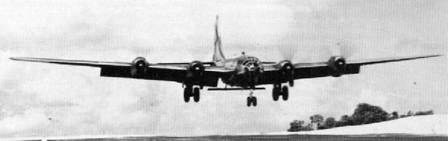 Aircraft of the 315th Bomb Wing landing at Northwest Field
