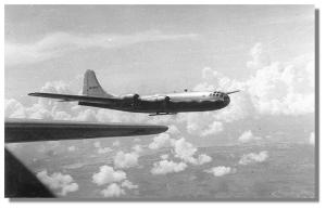 Aircraft of the 315th Bomb Wing in flight