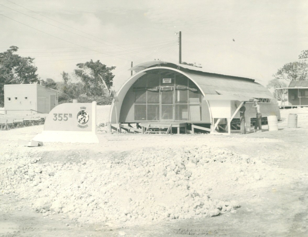 355BS Headquarters Quonset
