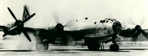 Aircraft of the 315th Bomb Wing, 501st Bomb Group B-29B starting engines