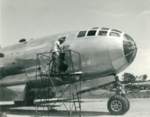 Aircraft of the 315th Bomb Wing, painting nose art